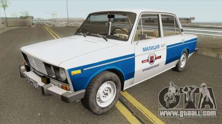 VAZ 2106 (Municipal Police) for GTA San Andreas