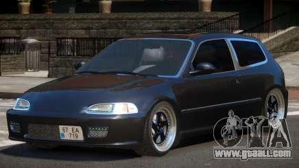 Honda Civic RTS for GTA 4