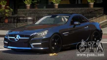 Mercedes Benz SLK Qz for GTA 4