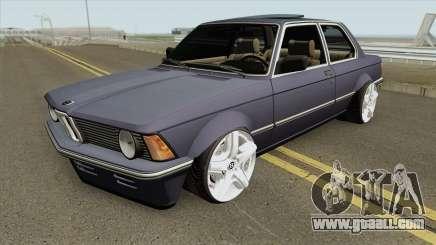 BMW 3-er E21 (Wide Body) for GTA San Andreas