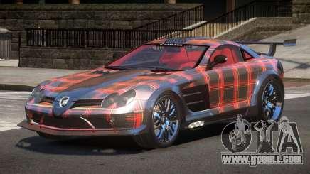 Mercedes Benz SLR H-Style PJ6 for GTA 4
