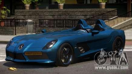 Mercedes Benz SLR Custom for GTA 4