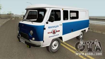 UAZ 3962 (Municipal Police) for GTA San Andreas