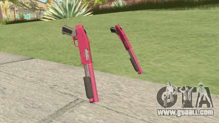 Sawed-Off Shotgun GTA V (Pink) for GTA San Andreas