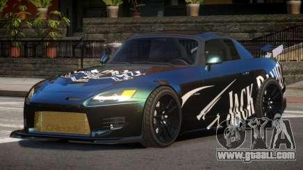 Honda S2000 GEN PJ2 for GTA 4