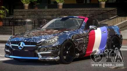 Mercedes Benz SLK DDS PJ4 for GTA 4