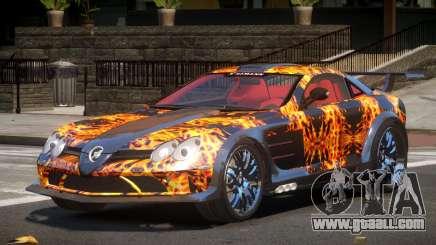 Mercedes Benz SLR H-Style PJ1 for GTA 4