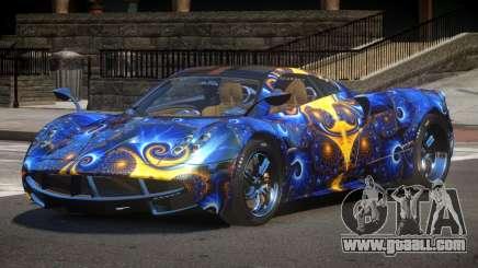 Pagani Huayra GBR PJ3 for GTA 4