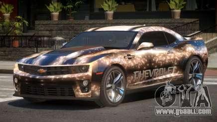 Chevrolet Camaro STI PJ2 for GTA 4