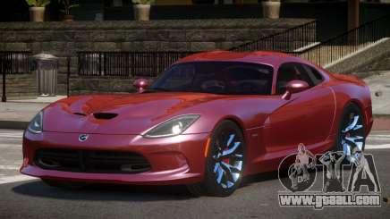 Dodge Viper SRT D-Tuned for GTA 4