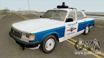 GAZ 31029 Volga (Municipal Police) for GTA San Andreas