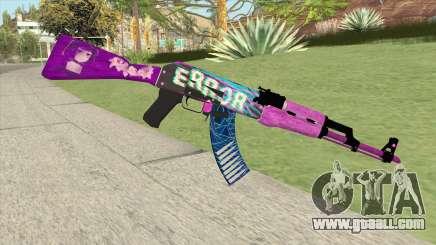 AK-47 (Aesthetic Bruh) for GTA San Andreas