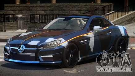 Mercedes SLK55 RG38 PJ2 for GTA 4