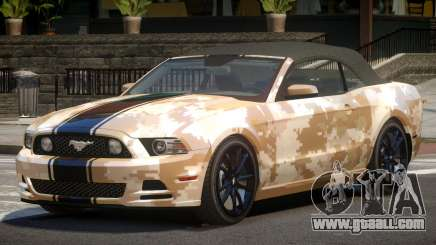 Ford Mustang GT CDI PJ3 for GTA 4