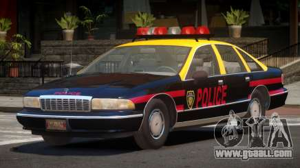 1995 Chevrolet Caprice Police for GTA 4