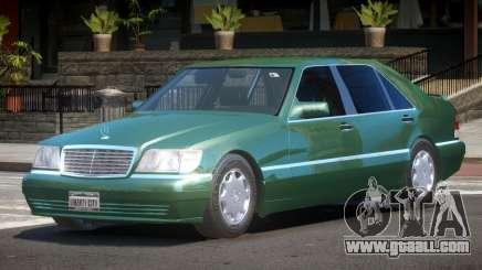 Mercedes Benz W140 S600 V1.0 for GTA 4
