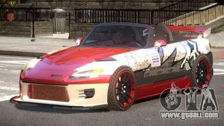 Honda S2000 D-Style PJ1 for GTA 4