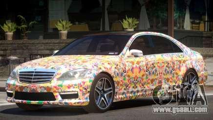 Mercedes-Benz S65 ES PJ5 for GTA 4