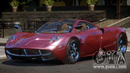 Pagani Huayra R-Tuned PJ5 for GTA 4