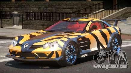 Mercedes Benz SLR H-Style PJ5 for GTA 4