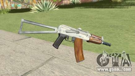 AK47 (Silver) for GTA San Andreas