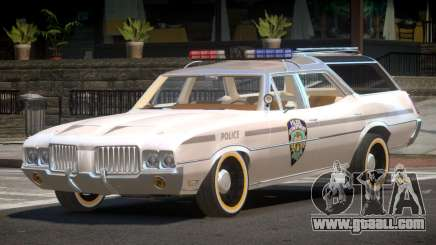 Oldsmobile Vista Cruiser RS Police for GTA 4