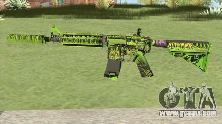 M4A4 Toxicator (CS:GO) for GTA San Andreas
