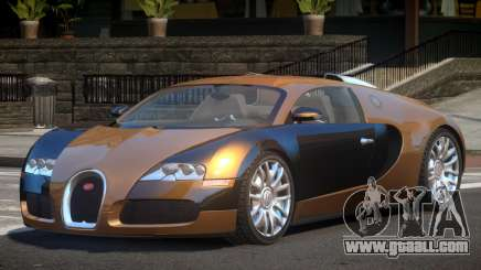Bugatti Veyron 16.4 RT for GTA 4