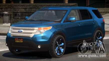 Ford Explorer RGT for GTA 4
