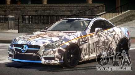 Mercedes SLK55 RG38 PJ1 for GTA 4