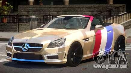 Mercedes Benz SLK DDS PJ1 for GTA 4