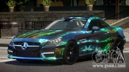Mercedes Benz SLK Qz PJ5 for GTA 4
