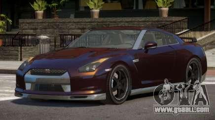 Nissan GTR R35 ZT for GTA 4