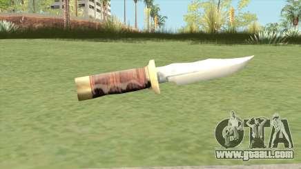 Knife LQ (Manhunt) for GTA San Andreas