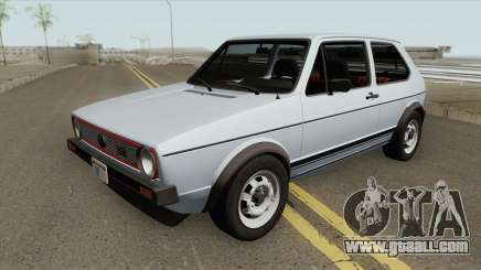 Volkswagen Golf GTI MKI (RHA) for GTA San Andreas