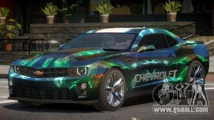 Chevrolet Camaro STI PJ5 for GTA 4