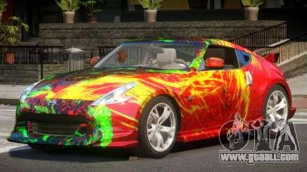 Nissan 370Z SR PJ2 for GTA 4