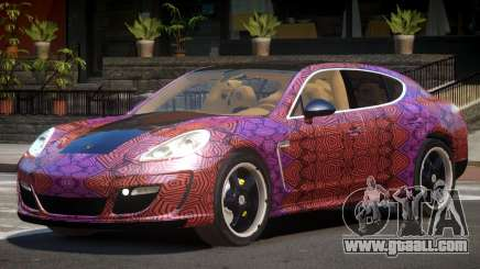 Porsche Panamera ML PJ6 for GTA 4
