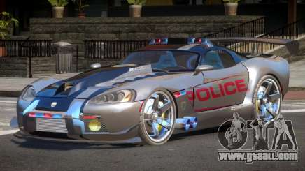 Dodge Viper SRT Police V1.1 for GTA 4