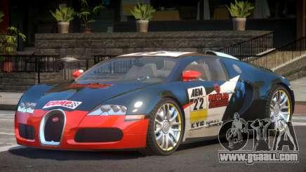Bugatti Veyron 16.4 S-Tuned PJ3 for GTA 4