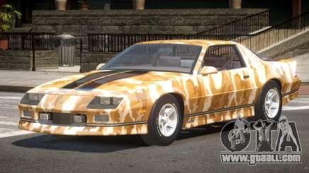 Chevrolet Camaro IR PJ5 for GTA 4
