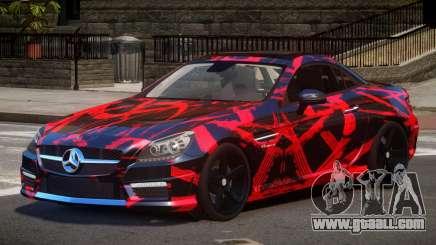 Mercedes Benz SLK Qz PJ1 for GTA 4