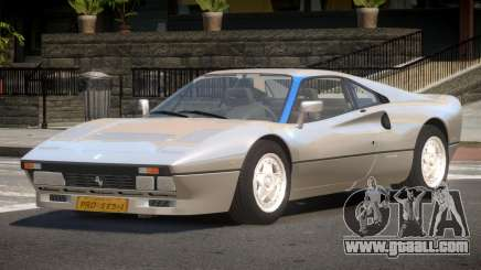 Ferrari 288 GTO V1.2 for GTA 4