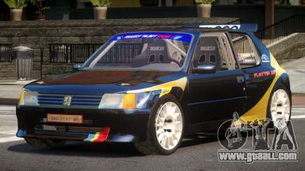 Peugeot 205 S-Tuning for GTA 4