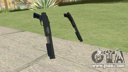 Sawed-Off Shotgun GTA V (LSPD) for GTA San Andreas