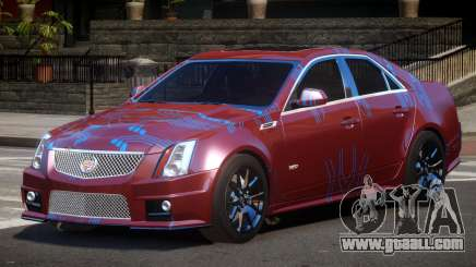 Cadillac CTS-V LR PJ1 for GTA 4
