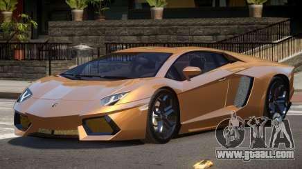 Lamborghini Aventador LP700 RP for GTA 4