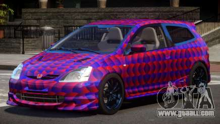 Honda Civic Type R-Tuned PJ3 for GTA 4