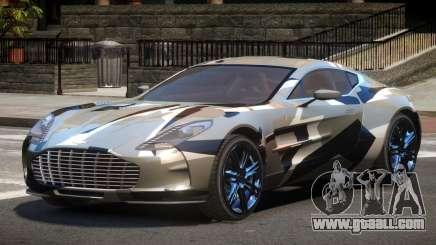 Aston Martin One-77 LS PJ4 for GTA 4