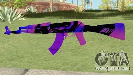 AK-47 (Purple) for GTA San Andreas
